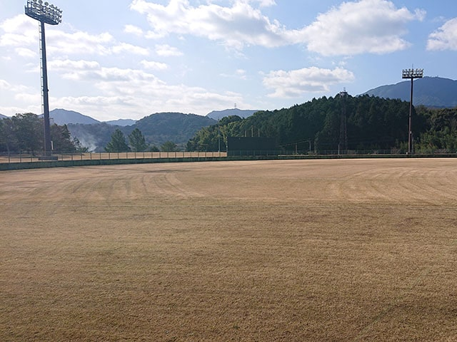 芝刈り作業